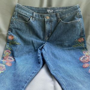 👖Style & Co Petite Curvy Skinny Leg Jeans